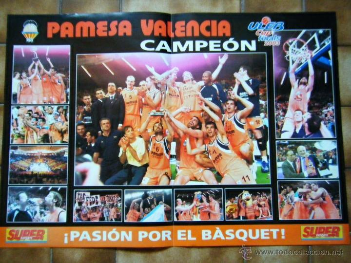 POSTER DEL PAMESA CAMPEÓN FINAL 2003 (Coleccionismo Deportivo - Carteles otros Deportes)