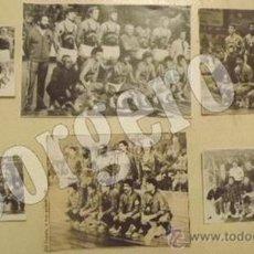 Coleccionismo deportivo: F.C.BARCELONA BALONCESTO. LOTE 6 RECORTES PLANTILLAS CAMPEONAS. DISTINTOS AÑOS. Lote 29948949