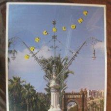 Coleccionismo deportivo: CARTEL ESTADI OLIMPIC. ARC DE TRIOMF. JUEGOS OLIMPICOS BARCELONA 1992.. Lote 43838403