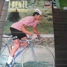 Coleccionismo deportivo: POSTER AS COLOR Nº 57. FUENTE (KAS). AÑOS 70´. Lote 44742748