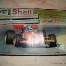 Coleccionismo deportivo: POSTER COCHE CARRERAS FORMULA 1 REVISTA AUTOPISTA AÑOS 70 . Lote 44912344