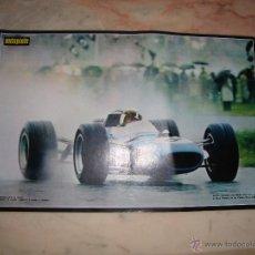 Coleccionismo deportivo: POSTER COCHE CARRERAS FORMULA 1 REVISTA AUTOPISTA AÑOS 70 . Lote 44912479