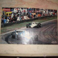 Coleccionismo deportivo: POSTER COCHE CARRERAS FORMULA 1 REVISTA AUTOPISTA AÑOS 70 . Lote 44912482