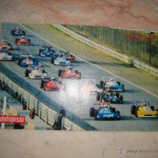 Coleccionismo deportivo: POSTER COCHE CARRERAS FORMULA 1 REVISTA AUTOPISTA AÑOS 70 . Lote 44912484