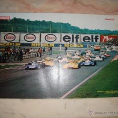 Coleccionismo deportivo: POSTER COCHE CARRERAS FORMULA 1 REVISTA AUTOPISTA AÑOS 70 . Lote 44912491