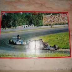 Coleccionismo deportivo: POSTER COCHE CARRERAS FORMULA 1 REVISTA AUTOPISTA AÑOS 70 . Lote 44912505
