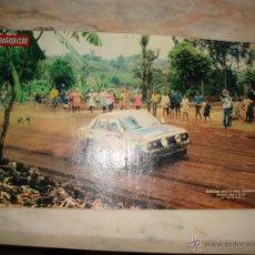 Coleccionismo deportivo: POSTER COCHE CARRERAS RALLYE REVISTA AUTOPISTA AÑOS 70 . Lote 44913096