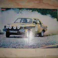 Coleccionismo deportivo: POSTER COCHE CARRERAS RALLYE REVISTA AUTOPISTA AÑOS 70 . Lote 44913181