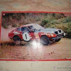 Coleccionismo deportivo: POSTER COCHE CARRERAS RALLYE REVISTA AUTOPISTA AÑOS 70 . Lote 44913548