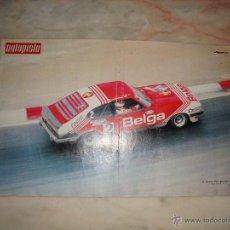 Coleccionismo deportivo: POSTER COCHE CARRERAS REVISTA AUTOPISTA AÑOS 70 . Lote 44913626