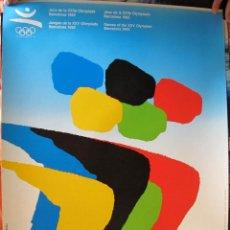 Coleccionismo deportivo: CARTEL CARTEL LAMINA POSTER ORIGINAL OLIMPIADAS BARCELONA 92 - ARCADI MORADELL. Lote 44924008