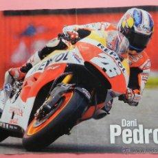 Coleccionismo deportivo: POSTER DANI PEDROSA (REPSOL HONDA) CAMPEONATO DEL MUNDO DE MOTOCICLISMO 2014 MOTOGP 14. Lote 46000781