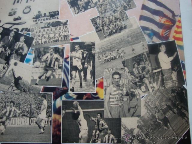 Coleccionismo deportivo: POSTER CARTEL REAL CLUB DEPORTIVO ESPAÑOL LA FORÇA D´UN SENTIMENT 1900-1990 FUTBOL R.C.D ESPANYOL - Foto 4 - 46146572