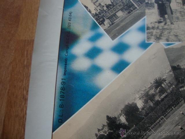 Coleccionismo deportivo: POSTER CARTEL REAL CLUB DEPORTIVO ESPAÑOL LA FORÇA D´UN SENTIMENT 1900-1990 FUTBOL R.C.D ESPANYOL - Foto 5 - 46146572