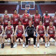 Coleccionismo deportivo: POSTER BALONCESTO BASKET CAI ZARAGOZA. Lote 48105915