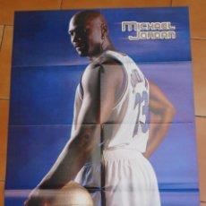 Coleccionismo deportivo: POSTER BALONCESTO NBA MICHAEL JORDAN CHICAGO BULLS MUY BUEN ESTADO. Lote 48284546