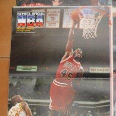 Coleccionismo deportivo: POSTER BALONCESTO NBA MICHAEL JORDAN CHICAGO BULLS MUY BUEN ESTADO. Lote 48285427