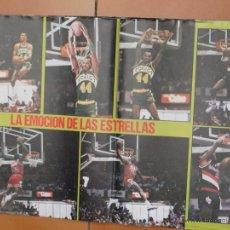 Coleccionismo deportivo: POSTER BALONCESTO NBA MICHAEL JORDAN CHICAGO BULLS MUY BUEN ESTADO. Lote 48285488