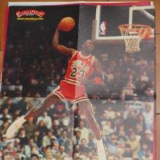 Coleccionismo deportivo: POSTER BALONCESTO NBA MICHAEL JORDAN CHICAGO BULLS MUY BUEN ESTADO. Lote 48285721