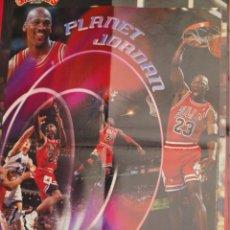 Coleccionismo deportivo: POSTER BALONCESTO NBA MICHAEL JORDAN CHICAGO BULLS MUY BUEN ESTADO. Lote 48285749