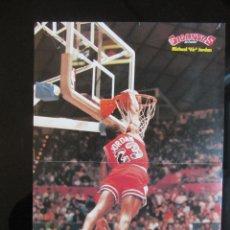 Coleccionismo deportivo: POSTER MICHAEL JORDAN (CHICAGO BULLS). REVISTA GIGANTES. Lote 48509868