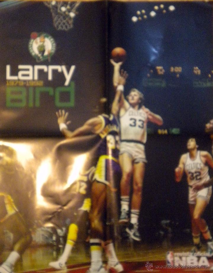 POSTER NBA BALONCESTO BASKET LARRY BIRD BOSTON CELTICS 1979-1992 (Coleccionismo Deportivo - Carteles otros Deportes)