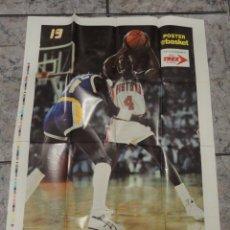 Coleccionismo deportivo: POSTER DE LA REVISTA DON BASKET NBA . Lote 49184306