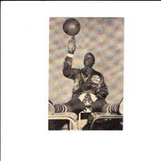Coleccionismo deportivo: PROGRAMA DE MANO ESPECTACULO HARLEM GLOBE TROTTERS EN BARCELONA AÑOS 50. Lote 49484772
