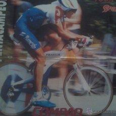 Coleccionismo deportivo: POSTER INDURAIN PENTACAMPEON TOUR 95 - SPORT CICLISMO 79X60. Lote 49596984