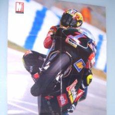 Coleccionismo deportivo: POSTER, DOBLE, MAX BIAGGI, APRILIA, - ALEX CRIVILLE, HONDA NSR 500, CATALUÑA 1996. Lote 67833626