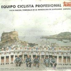 Coleccionismo deportivo: EQUIPO CICLISTA PROFESIONAL TEKA 1983. Lote 50596061