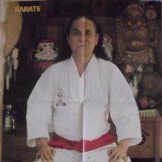 Coleccionismo deportivo: PÓSTER DE GOGEN YAMAGUCHI DE LA REVISTA ''KARATE BUSHIDO''. Lote 50620416
