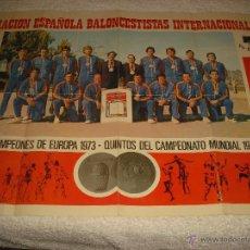 Coleccionismo deportivo: AEBI . ASOCIACION ESPAÑOLA BALONCESTISTAS INTERNACIONALES . YO BASQUET 1973 , 1974. Lote 51718458