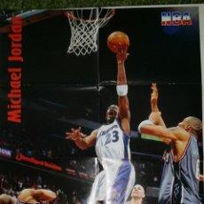 Coleccionismo deportivo: LOTE POSTER DE LA REVISTA NBA - LOTE MICHAEL JORDAN. Lote 51925510