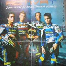 Coleccionismo deportivo: POSTER MOTO GP , EQUIPO HONDA MOVISTAR TELEFONICA REPSOL -. Lote 52669884