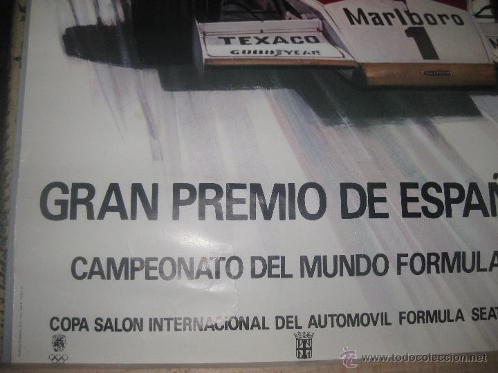 Coleccionismo deportivo: Original,Gran Premio de España Monjuit 1975 - Foto 2 - 53017981