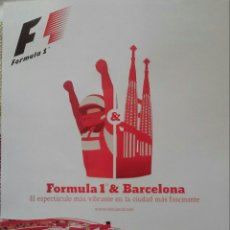 Coleccionismo deportivo: LAMINA 30X40 GP DE F1 DE ESPAÑA 2013. Lote 53623720