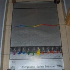 Coleccionismo deportivo: OLYMPISCHE SPIELE MUNCHEN 1972. OLIMPIADAS MUNICH, SHUSAKU ARAKAWA.. Lote 54563752