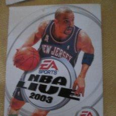 Coleccionismo deportivo: NBA LIVE 2003 - JASON KIDD. Lote 54749631