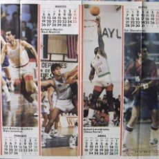 Coleccionismo deportivo: MICHAEL JORDAN - CALENDARIO DE 1990 DE LA REVISTA ''DON BASKET''. Lote 54985743