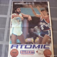 Coleccionismo deportivo: LOS SUPERPOSTERS MUNDOBASKET-1985-TATO LOPEZ(URUGUAY)(47 X 31 CM). Lote 55913476