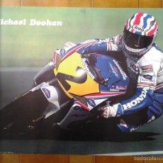 Coleccionismo deportivo: PÓSTER. MICHAEL DOOHAN. MOTOGP. MOTOS. HONDA NSR 500. 90´. Lote 56256805