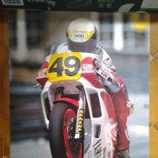Coleccionismo deportivo: PÓSTER. JOHN KOCINSKI. MOTOGP. YAMAHA YZR 500CC. 90´. Lote 56257146