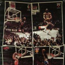 Coleccionismo deportivo: POSTER MICHAEL JORDAN CONCURSO DE MATES 1987. Lote 121424540