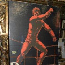 Coleccionismo deportivo: CARTEL PANCRACE LUCHA LIBRE AMERICANA ( ORIGINAL ) PRINCIPIO DEL S.XX , LIT FERNANDEZ, MADRID. Lote 57369936