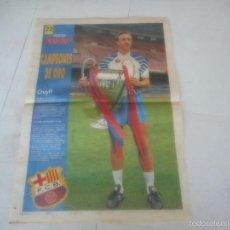 Coleccionismo deportivo: POSTER BARÇA BARCELONA FUTBOL CRUYFF. Lote 57653496