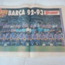 Coleccionismo deportivo: POSTER BARÇA BARCELONA FUTBOL. Lote 57653543