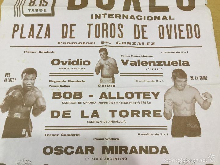 Coleccionismo deportivo: BOXEO VELADA PLAZA DE TOROS DE OVIEDO DE 1968 - Foto 3 - 61204503