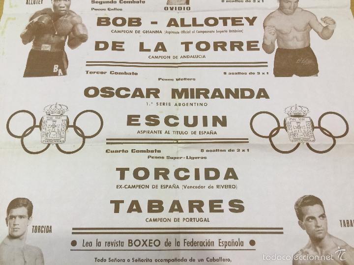 Coleccionismo deportivo: BOXEO VELADA PLAZA DE TOROS DE OVIEDO DE 1968 - Foto 4 - 61204503
