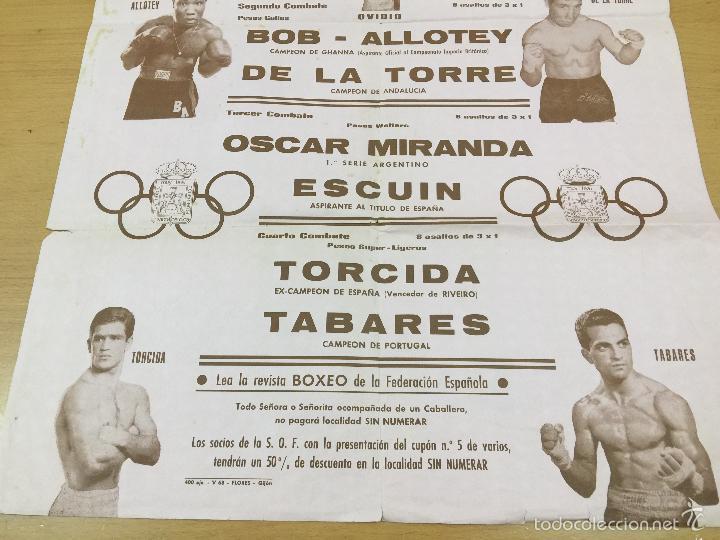 Coleccionismo deportivo: BOXEO VELADA PLAZA DE TOROS DE OVIEDO DE 1968 - Foto 5 - 61204503